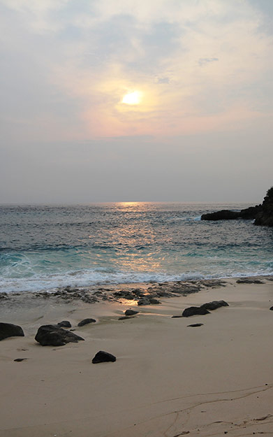 Experience the gorgeous sunsets on Nusa Lembongan
