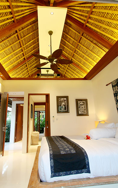 Luxury suites at our private beachside resort on nusa lembongan
