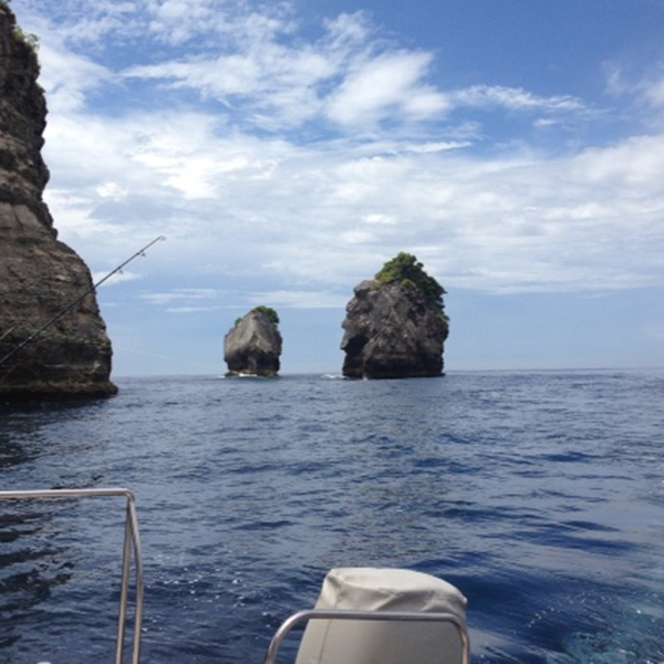 Fishing off the coast of Bali and Nusa Lembongan with our exclusive boat charter