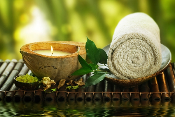 There's no need to go outside the Villa with your own private day spa just a few steps away.