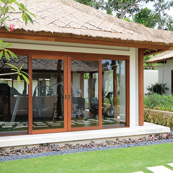 Our Luxury Bali Villa on Nusa Lembongan has a fully-equipped gym
