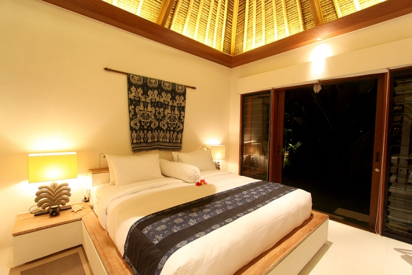 Enjoy one of our spacious suites when you stay at Villa Pantai