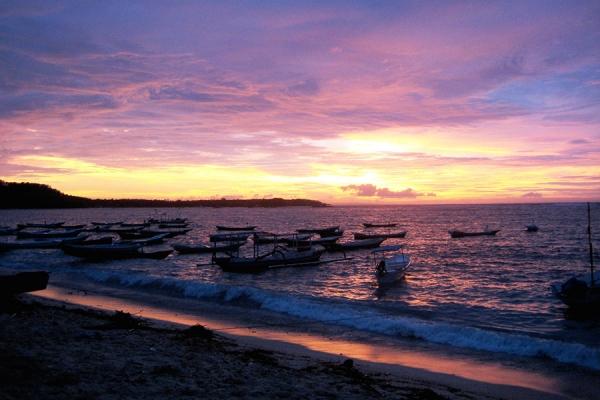 Stunning Bali Sunsets