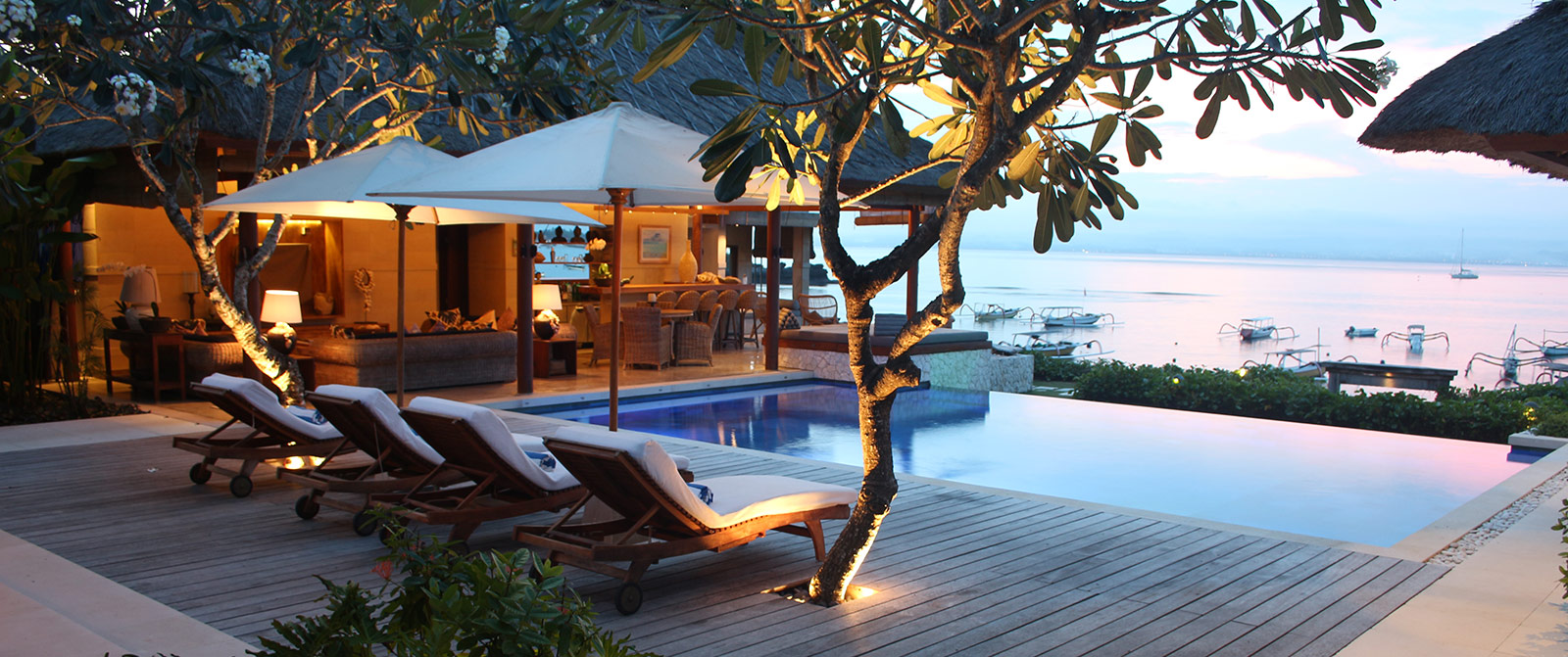Luxury Villa Bali Nusa Lembongan Resort Villa Pantai