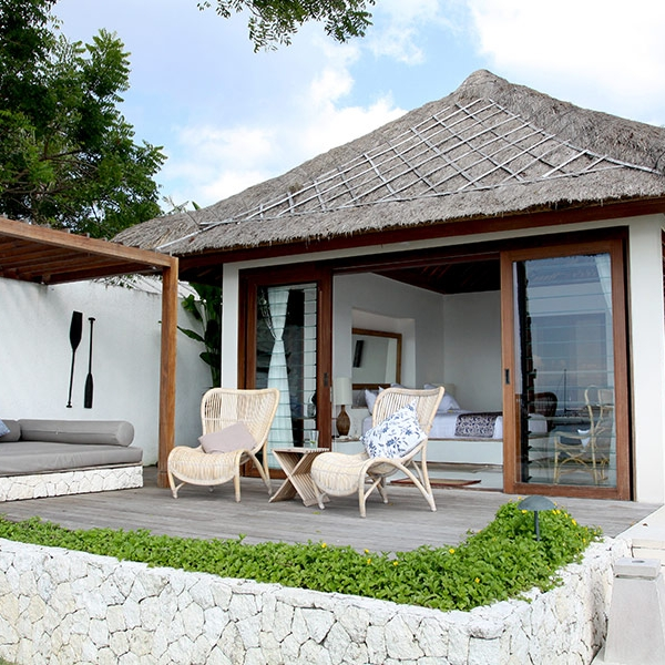 Your own private verandah next to the pool