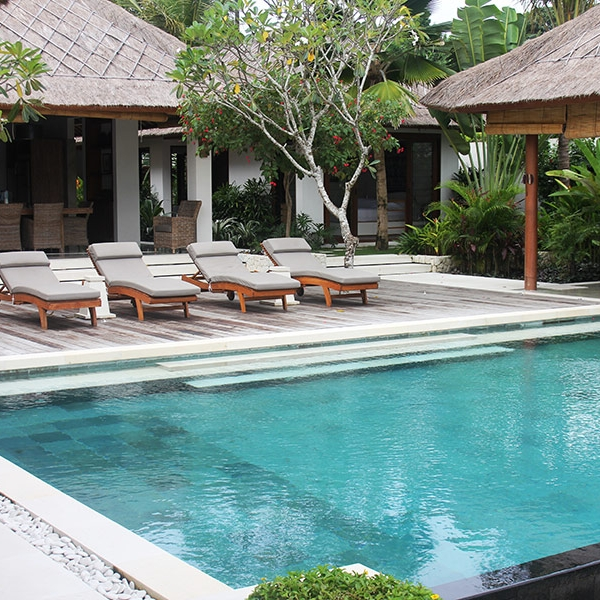 At Villa Pantai You'll have exclusive access to our stunning infinity pool